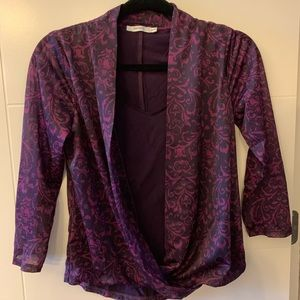 Formal silky soft blouse by Ricki's